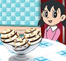 Xuka học làm kem socola