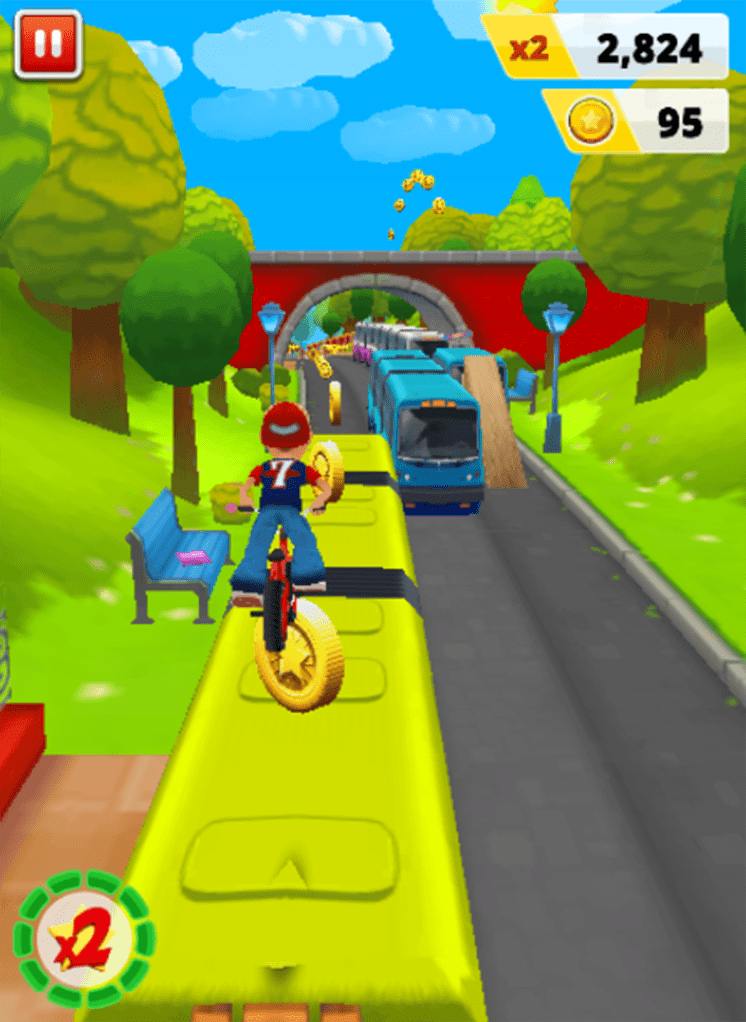 game bike racing - bike blast rush app android ios hinh anh 2