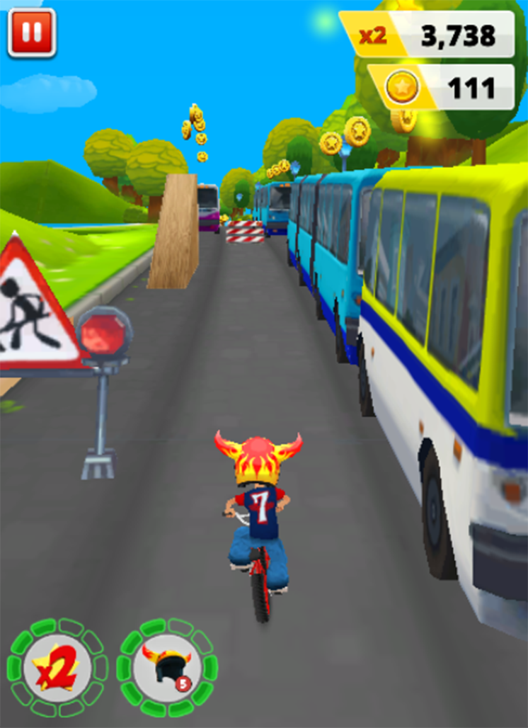 game bike racing - bike blast rush online hack hinh anh 3