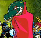 Huyền thoại Chima diệt cá sấu
