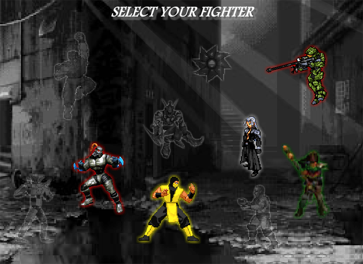 game kombat fighters hinh anh 1