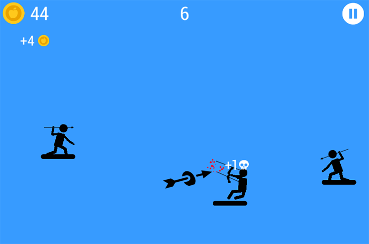 game nguoi que phi lao the spear stickman hinh anh 2