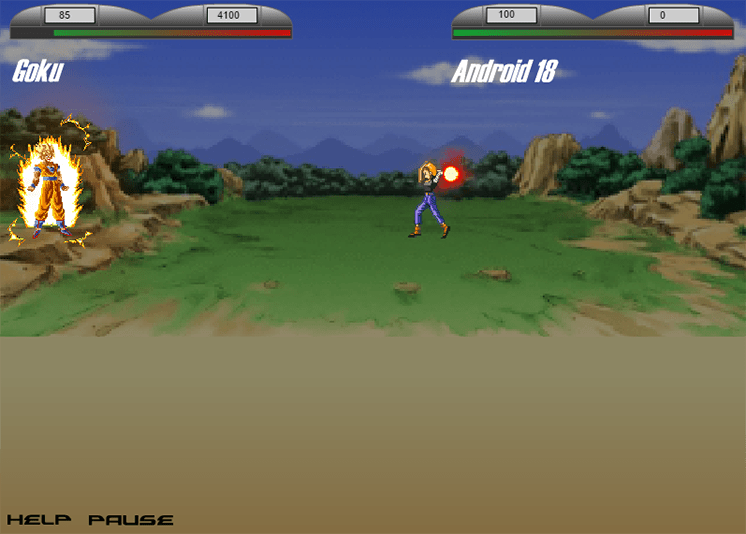 game songoku dai chien android 18 hinh anh 2
