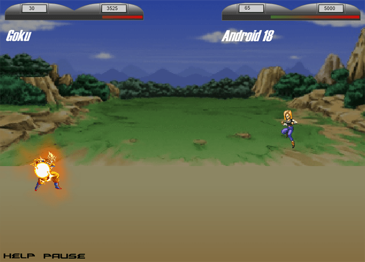 game songoku dai chien android 18 hinh anh 3