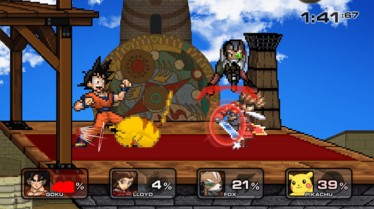 game super smash flash 2 beta v.09 hinh anh 3