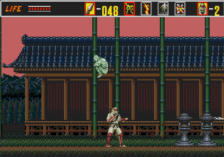 game the revenge of shinobi kbh hinh anh 2