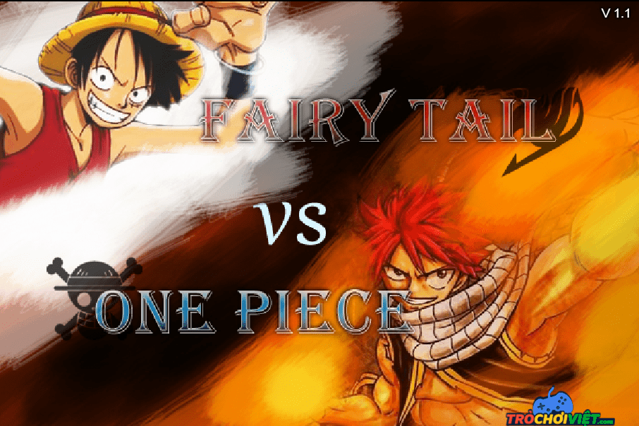 Tro choi one piece vs fairy tail 1.1