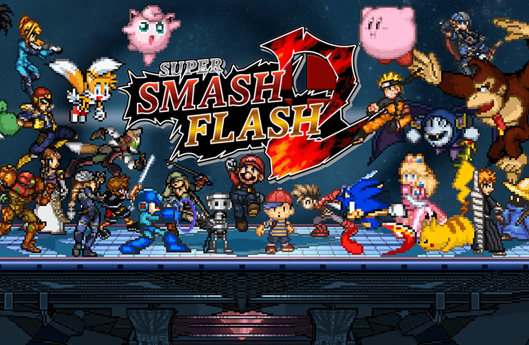 tro choi super smash flash 2