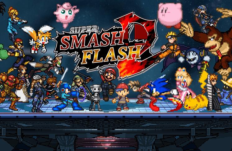 Game Super Smash Flash 2 - Trò chơi Super Smash Flash 2 v 09 cực hay