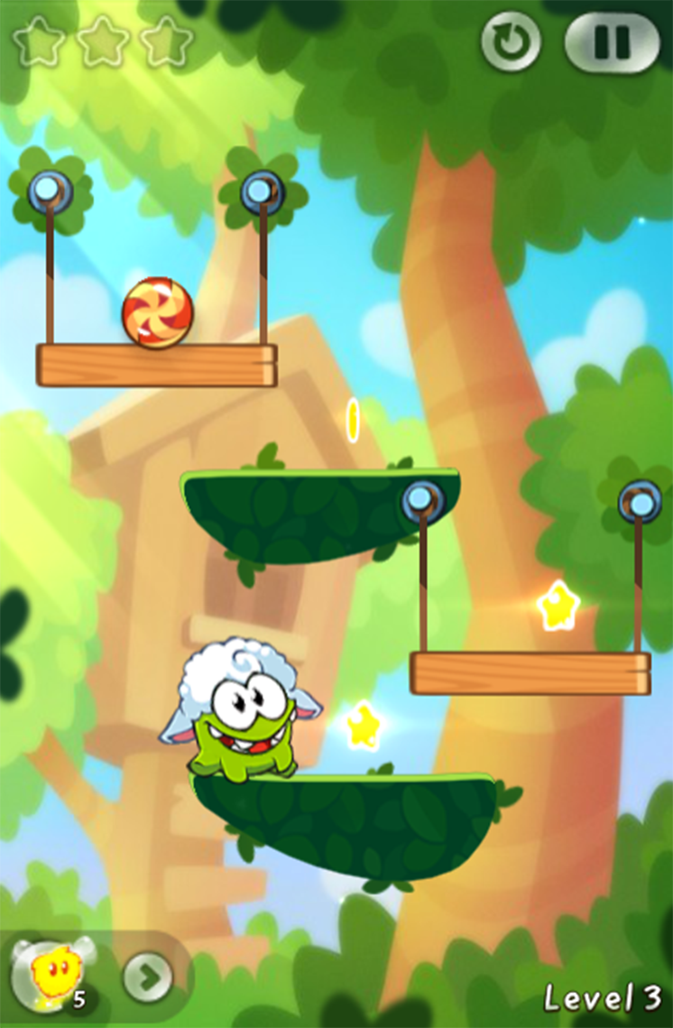 game cat day thung cut the rope 2 hinh anh 1