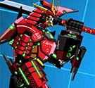 Lắp ráp robot Samurai Age chiến đấu