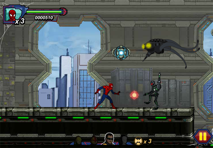 game spider-man: nhen sat hinh anh 3