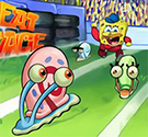 Spongebob tay đua siêu tốc