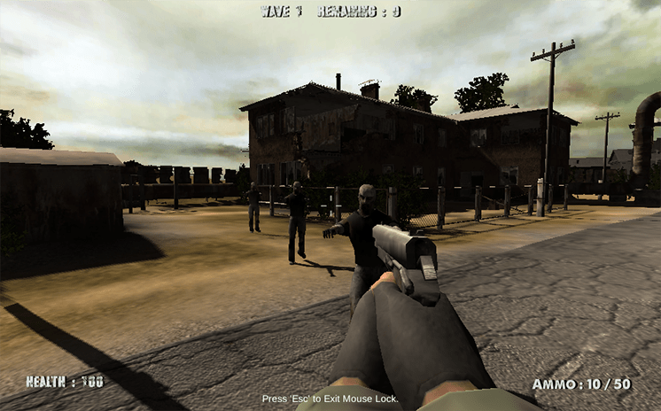 game thanh pho ma 3d call of zombies hinh anh 1