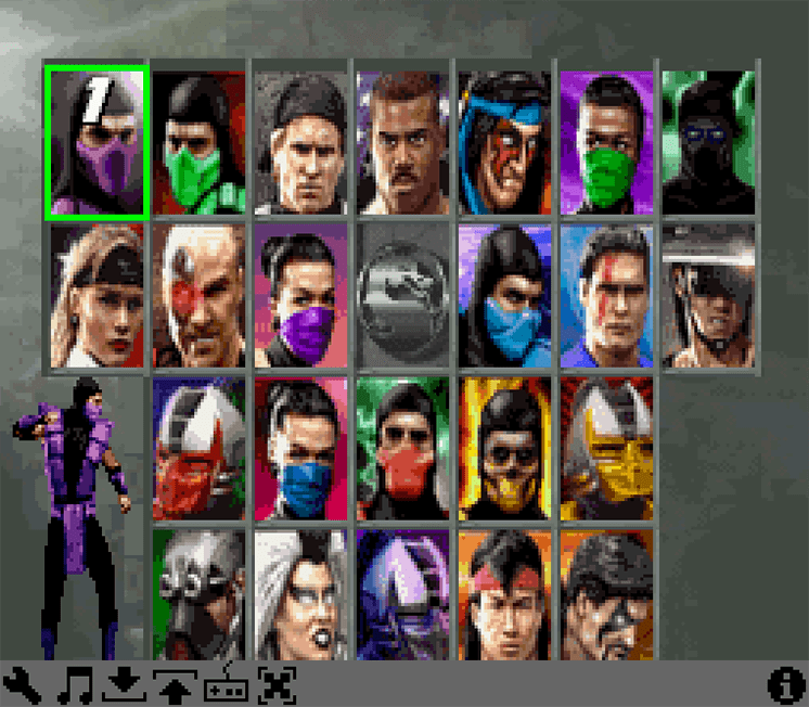 game ultimate mortal kombat 3 umk3 hinh anh 1