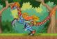 Lắp ráp robot khủng long Therizinosaurus