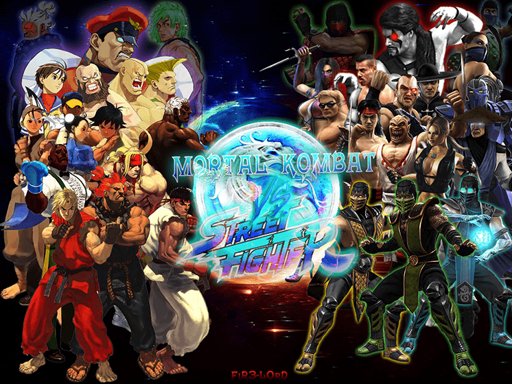 tro choi mortal kombat vs street fighter