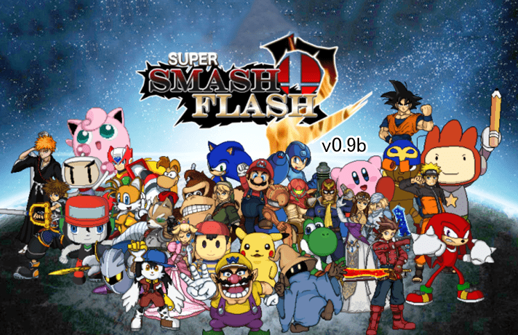 tro choi super smash flash 2 v0.9b