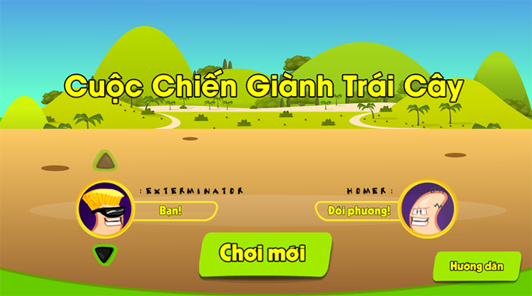 game cuoc chien gianh trai cay hinh anh 1