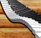 Đàn piano theo nhạc
