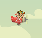 Khỉ học lái máy bay