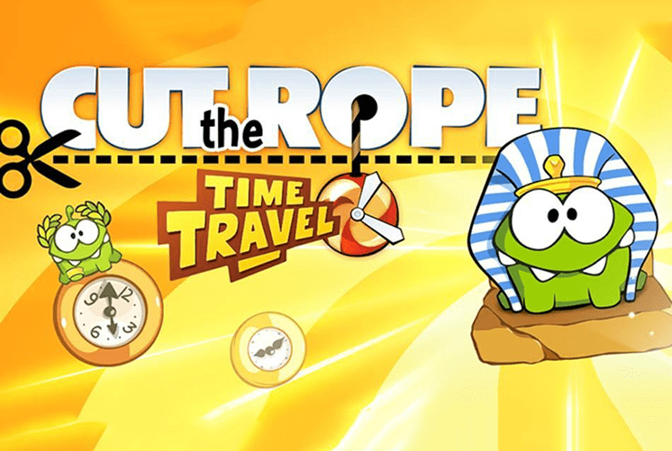 tro choi cut the rope time travel
