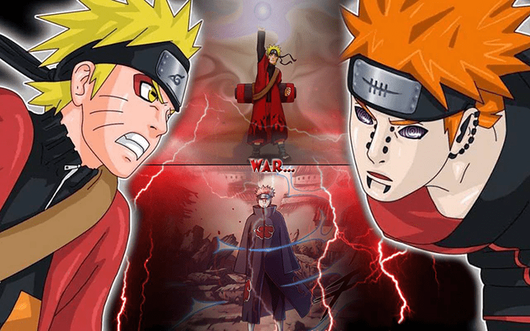 tro choi naruto vs pain