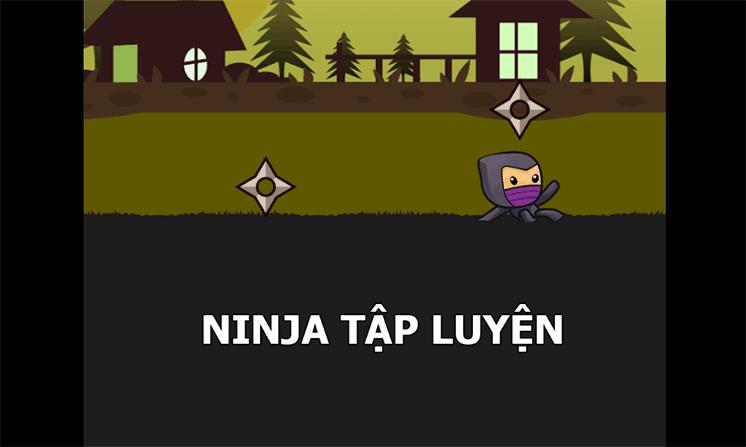tro choi ninja tap luyen