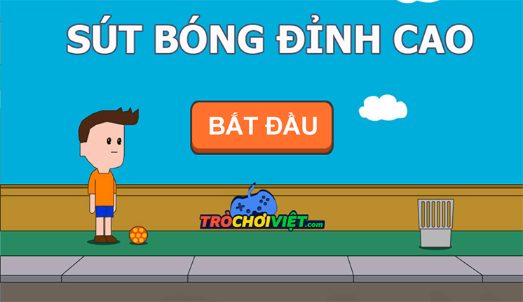 tro choi sut bong dinh cao
