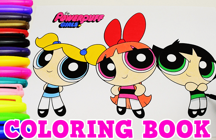 tro choi to mau powerpuff girls