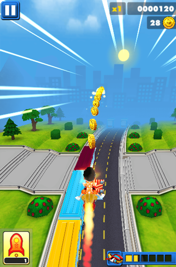 game subway surfers 2 tau dien ngam luot 2