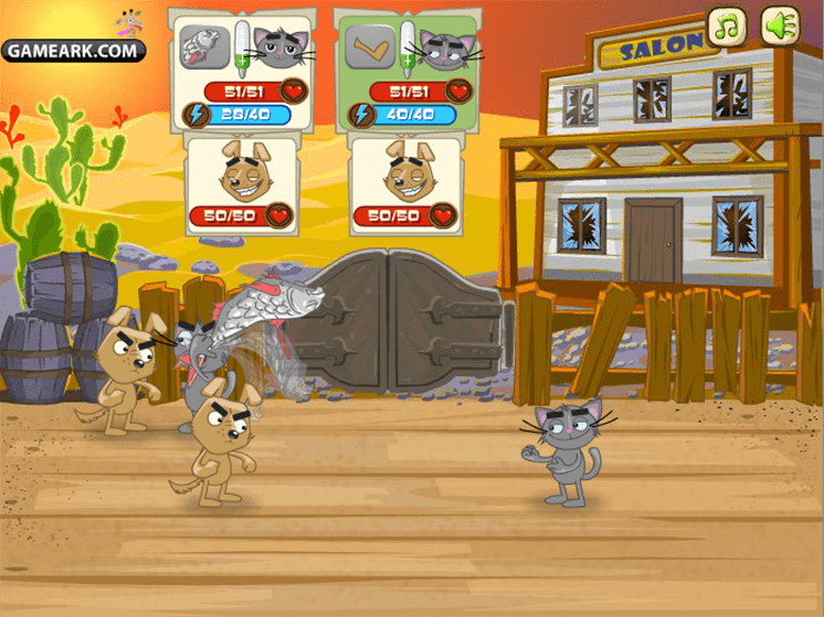 game cuoc chien cho meo 2