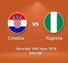 Trực tiếp Croatia vs Nigeria trực tuyến VTV3 HD xem online