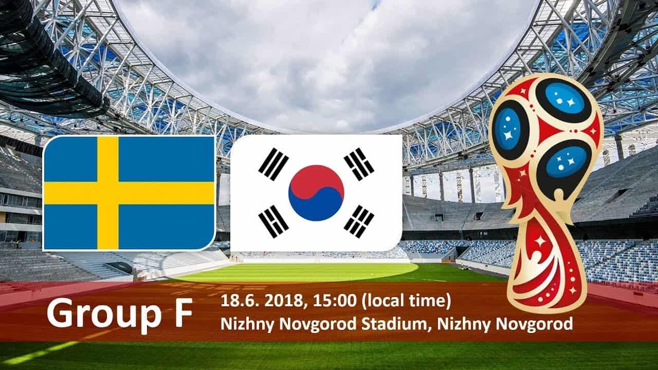 Trực tiếp Thụy điển vs Hàn quốc VTV6 xem online 19:00 18/06/2018