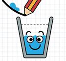 Đổ nước vào cốc